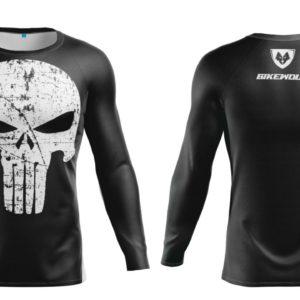 Bluza Termo Punisher Black Lycra®