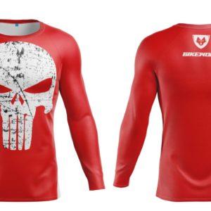 Bluza Termo Punisher Red Lycra®