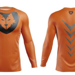 Bluza Termo Orange Steel Lycra®